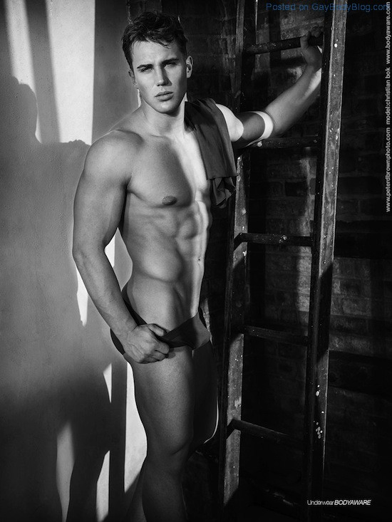 Classic Photography With Handsome Jock Christian Bok 5 Classic Photography With Handsome Jock Christian Bok