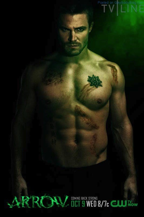 A Shirtless Stephen Amell 3 A Shirtless Stephen Amell