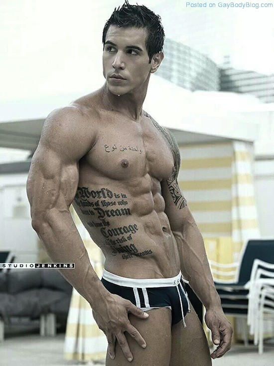 Ripped Muscle Hunk Alan Valdez (3)