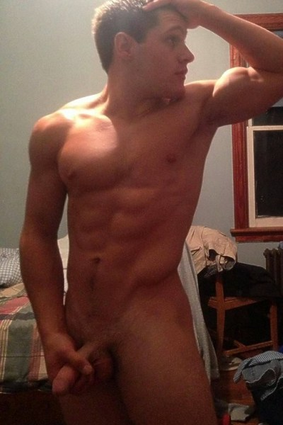 Straight Guys Flashing Their Man Meat 8