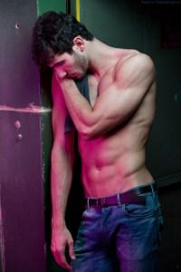 A Shirtless Artur Dainese
