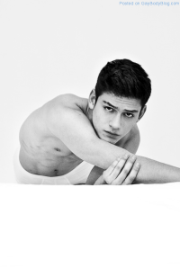 Ballet Dancer And Male Model Tristan Ridel