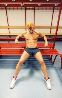 Dimitri Petrowski Showing Some Wrestler Butt!