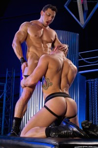 Muscle Buddies Johnny V And Joey D Fuck!