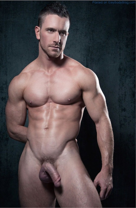 Men hunks muscle nude
