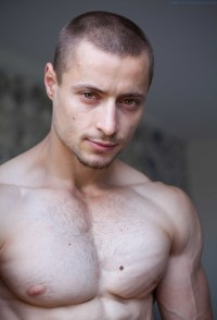 Luca Agra Is Mean And Tough - And Naked