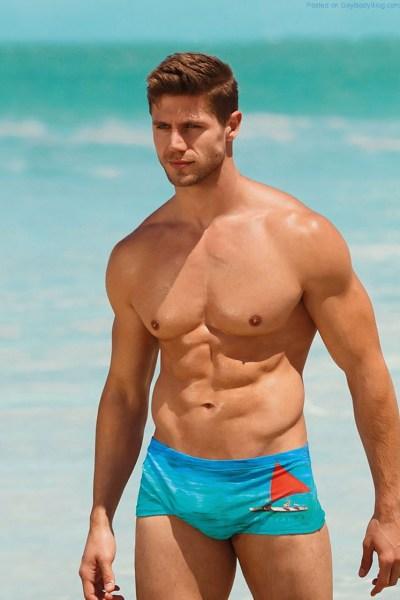Drooling Over Stunning Muscle Jock Model Jonas Sulzbach 1
