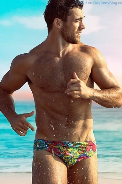 Who Is This Handsome Hunk Showing Off For aussieBum