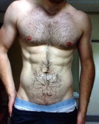 An Anonymous Hairy And Hung Uncut Hunk