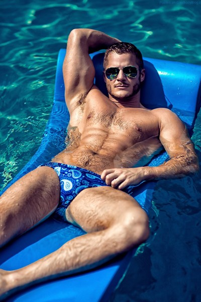 Getting Wet With Gorgeous Austin Armacost 1