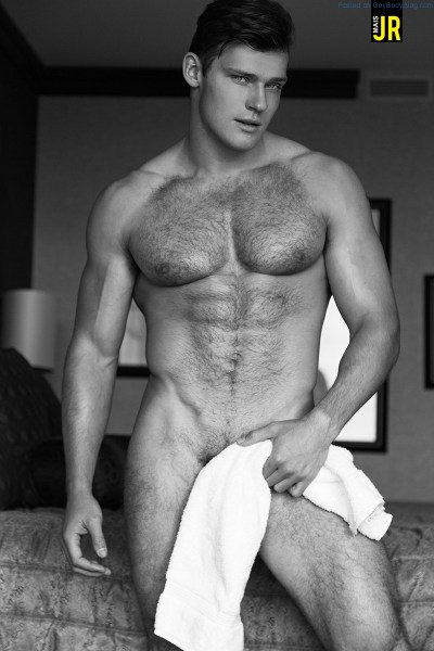 Handsome And Hairy Hunk Ben Todd 1