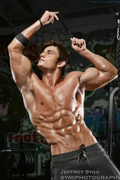 The Buff Body Of Muscled Jock Bryant Wood 1