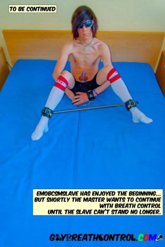 EmoBCSMSlave Morning Training and Torture Picture Story