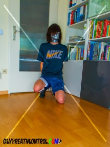 EmoBCSMSlave: Soccer and Breath Control w/ Duct Tape