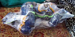 Keep hockey players fresh - Vaccumed Breath Controlled Space Bag Guy