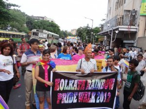 Gay Pride March in Kolkata