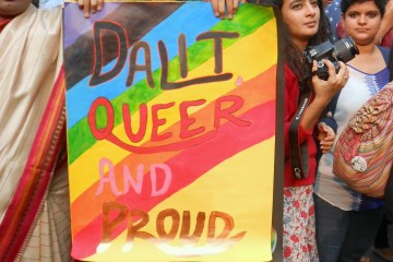 Assertion of Dalit Indentity at Delhi Queer Pride 2015