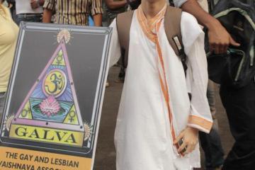 Ankit at Mumbai Pride 2013