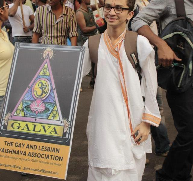 Ankit at Mumbai Pride 2013