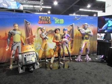 Star Wars Celebration Anaheim Exhibit Hall6