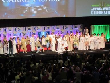 Star Wars Celebration Anaheim, Princess Leia cosplay