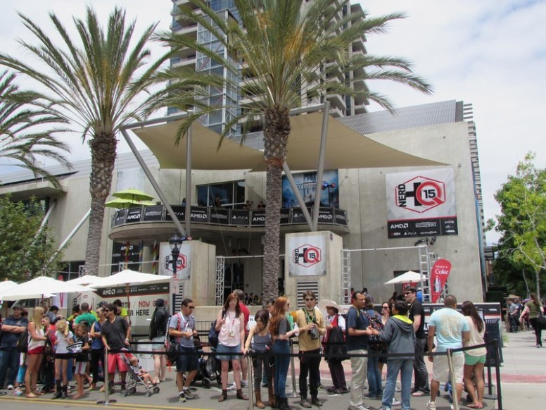 SDCC 2015, Friday, Nerd HQ