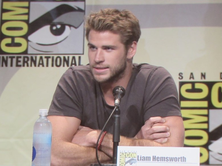 SDCC 2015 Thursday Hunger Games Panel, Liam Hemsworth