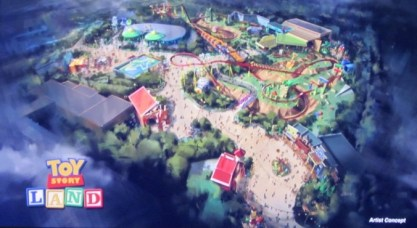 D23 Expo 2015, Toy Story Land