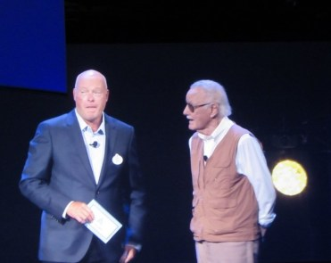 D23 Expo 2015, Iron Man Experience, Stan Lee