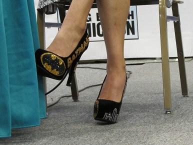 Dr. Andrea Letamendi's shoes were pretty awesome!
