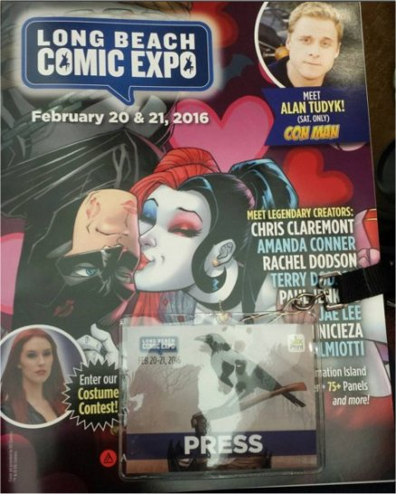 Long Beach Comic Expo 2016