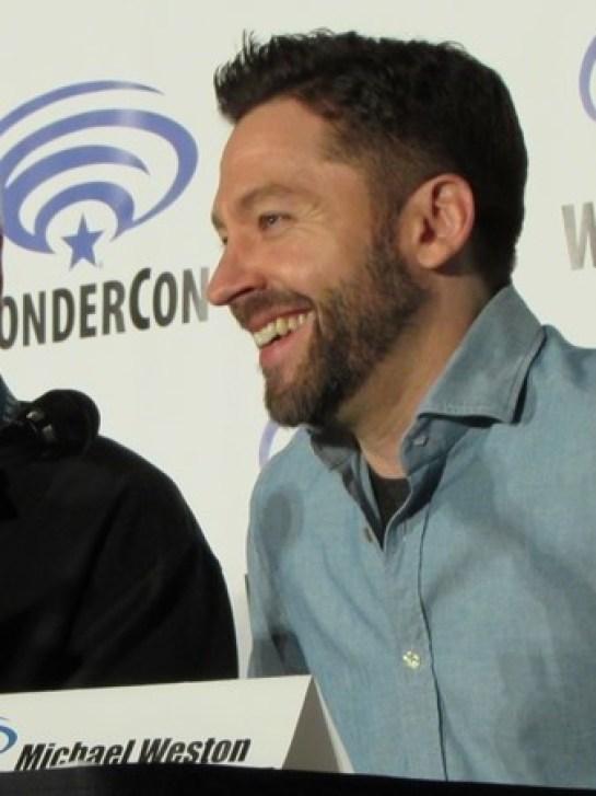 WonderCon 2016 Friday, Houdini & Doyle, Michael Weston