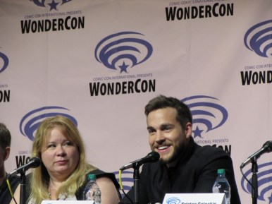 WonderCon 2016, Friday, Microsoft Theater, Containment, Julie Plec, Chris Wood