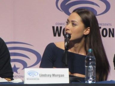 WonderCon 2016, The 100, Lindsey Morgan