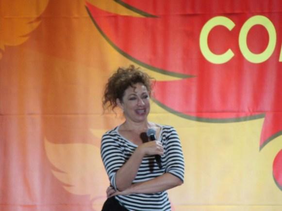 Phoenix Comicon 2016, Alex Kingston