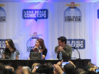 Long Beach Comic Con 2016, Firefly, Summer Glau, Jewel Staite, Sean Maher