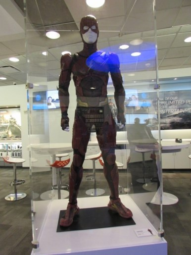 The Flash from Justice League in Times Square