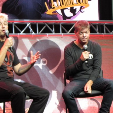 Rob Liefeld at LA Comic Con 2017