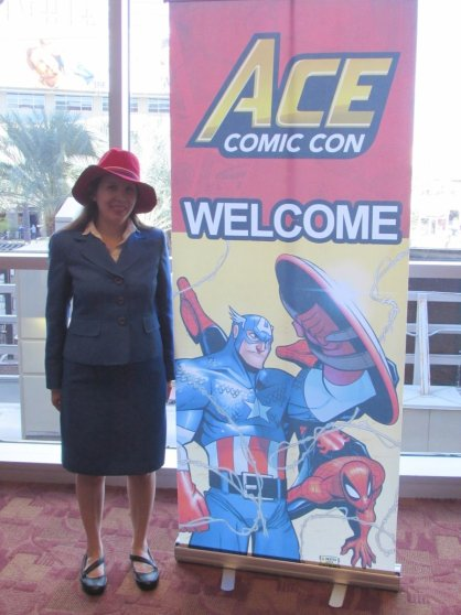 Agent Carter cosplayers at Ace Comic Con