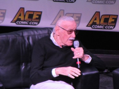 Stan Lee at Ace Comic Con