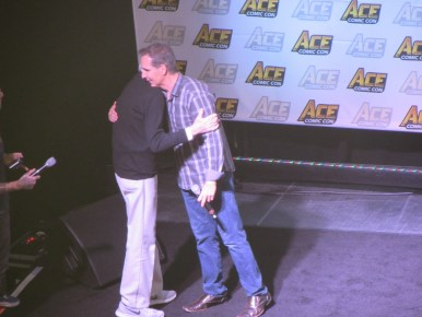 Stan Lee and Todd McFarlane at Ace Comic Con