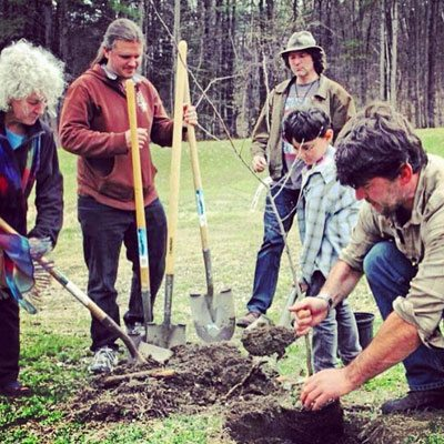 Earth Day Tree Planting GCC event