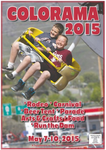 Kids loving the Colorado Canival rides make the cover of The Star special section.