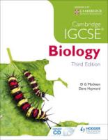 Cambridge IGCSE Biology 3rd Edition by D G Mackean and Dave Hayward