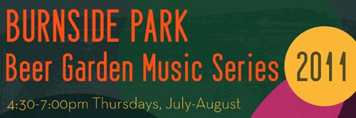 Burnside Park Beer Garden Music Series 2011