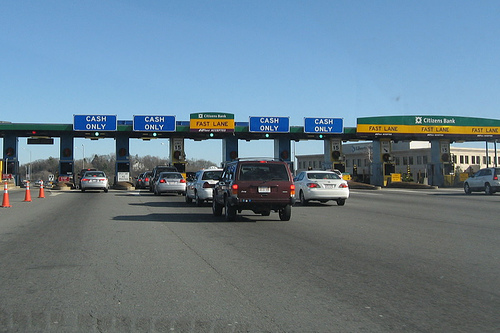 Massachusetts Toll Plaza