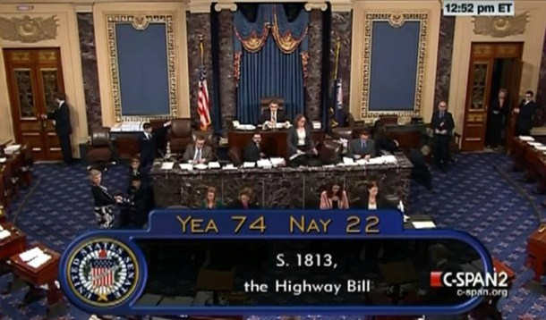 cpan senate highway bill