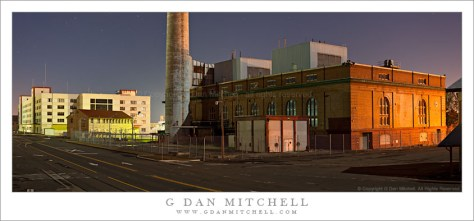 Powerplant, Railroad Avenue - Mare Island Naval Shipyard