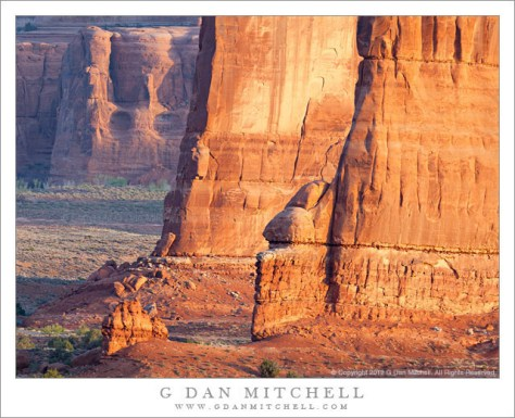 The Organ and the Tower of Babel - The Organ and Courthouse Towers in early morning light, Arches National Park, Utah.
