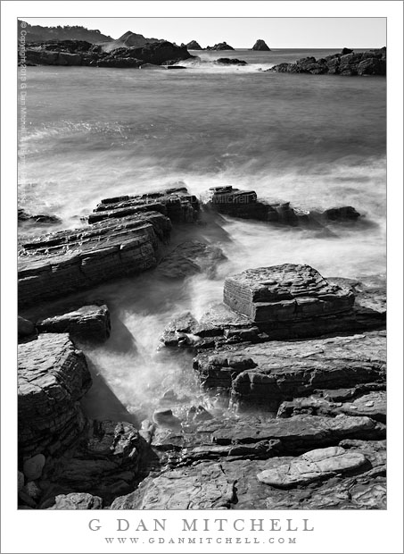 Rocks and Surf, Weston Beach